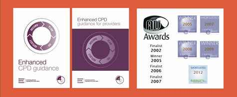 GDC CPD documents and The Dental Channel's awards